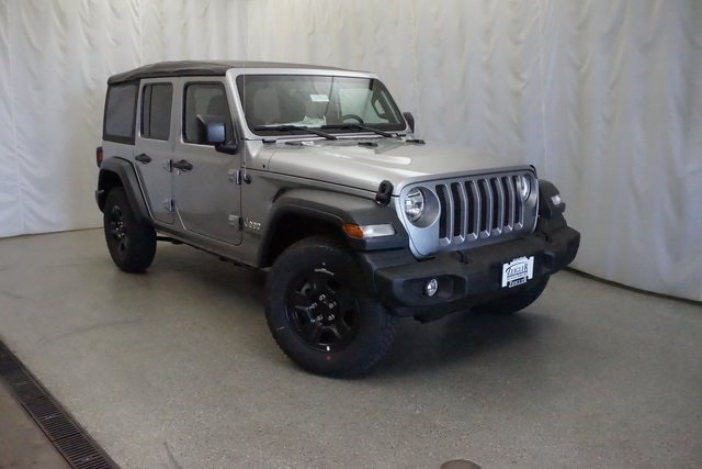 Charming New 2018 JEEP Wrangler Unlimited Sport