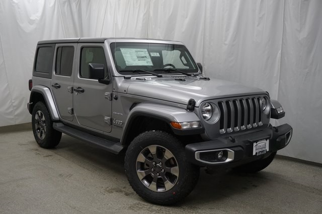 New 2019 JEEP Wrangler Unlimited Sahara Sport Utility in ...