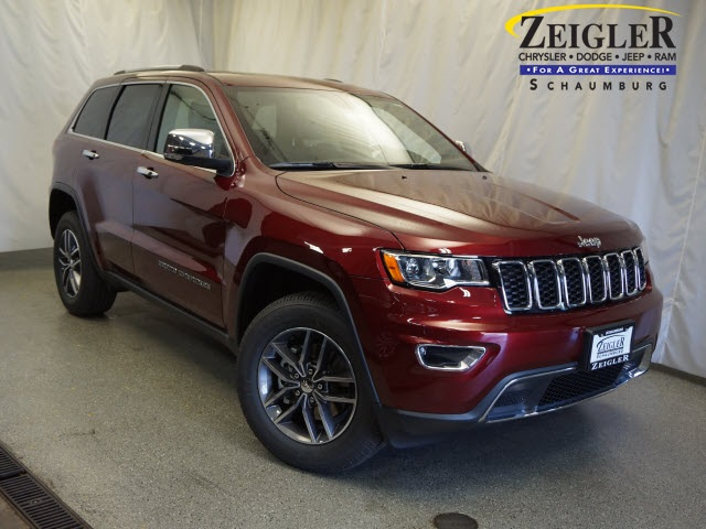 new 2018 jeep grand cherokee limited sport utility in schaumburg 180273 zeigler chrysler. Black Bedroom Furniture Sets. Home Design Ideas
