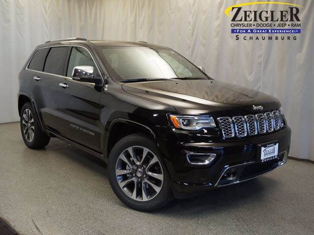 New 2018 JEEP Grand Cherokee Overland Sport Utility in Schaumburg ...
