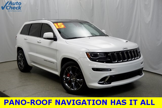 Pre Owned 2015 Jeep Grand Cherokee SRT