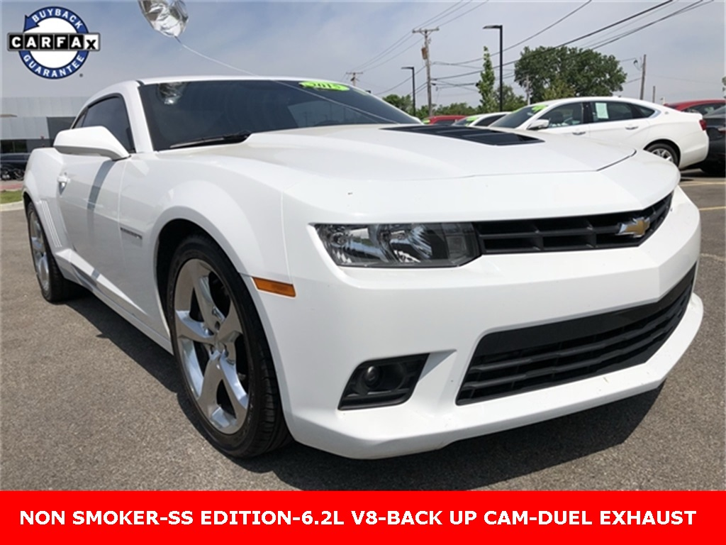 Pre-Owned 2015 Chevrolet Camaro SS 2D Coupe in Schaumburg #P1649A ...