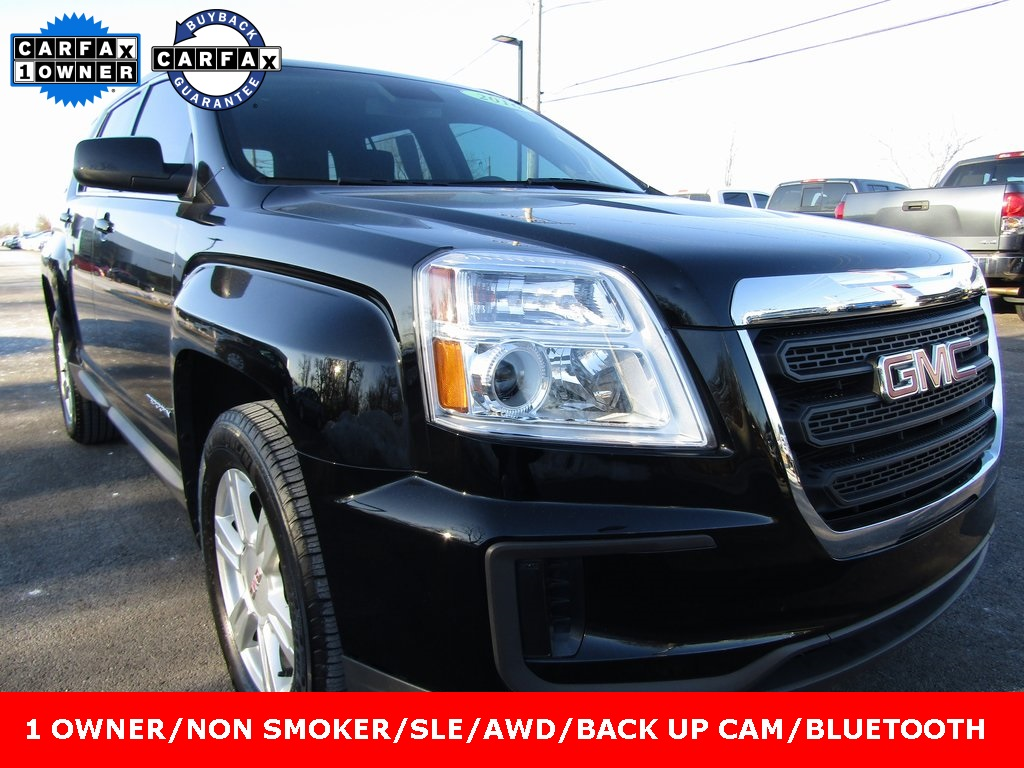 used detail north slt mall auto w at awd terrian terrain coast gmc
