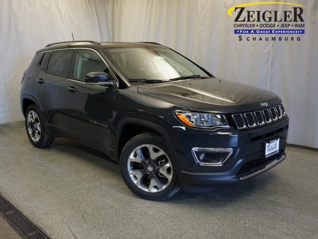 new 2018 jeep compass limited sport utility in schaumburg 180920 zeigler chrysler dodge jeep. Black Bedroom Furniture Sets. Home Design Ideas