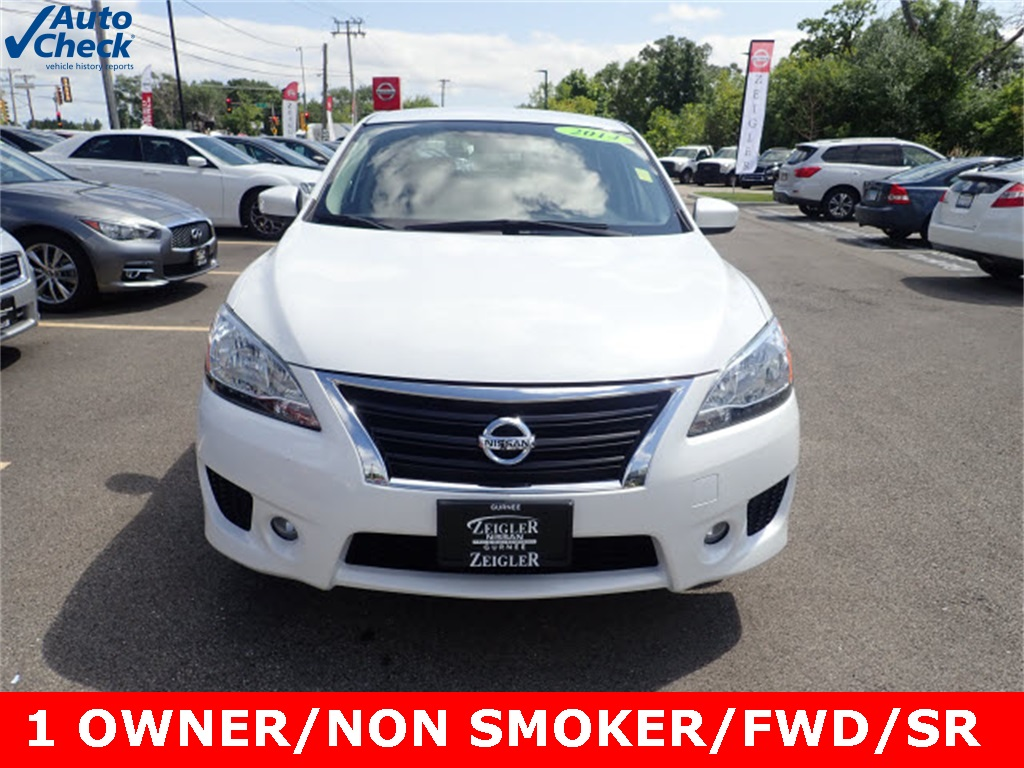 Pre Owned 2014 Nissan Sentra Sr 4d Sedan In Schaumburg P1848 Altima Fuel Filter