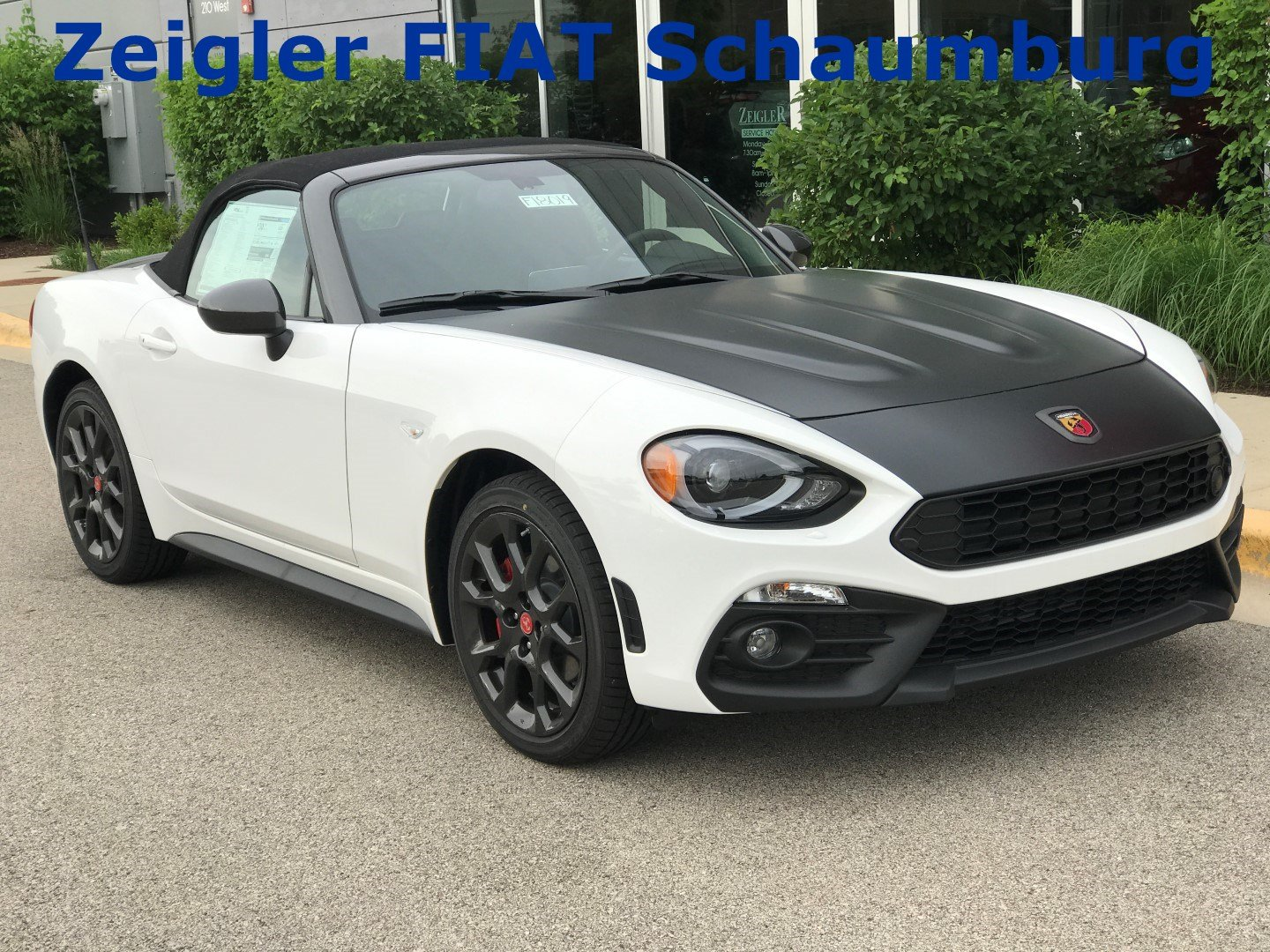 new 2018 fiat 124 spider elaborazione abarth convertible in