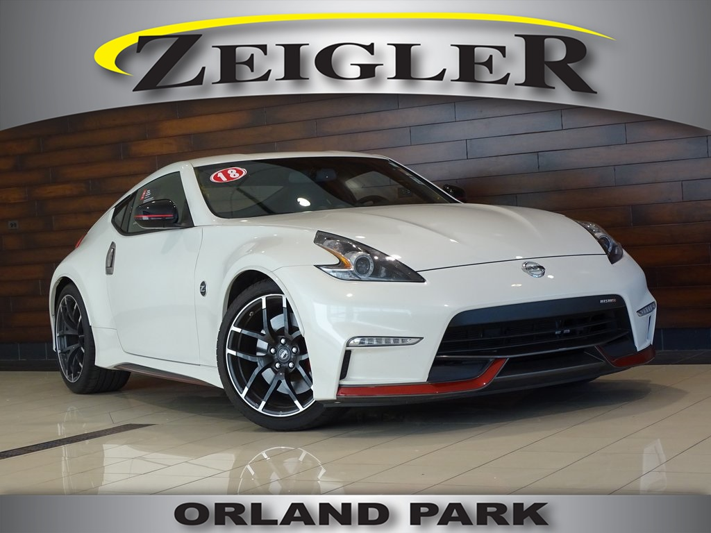 Pre Owned 2018 Nissan 370z Nismo Tech 2d Coupe In Schaumburg P3254