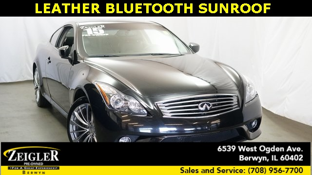 Pre Owned 2015 Infiniti Q60 Sport 2d Coupe In Schaumburg A1854