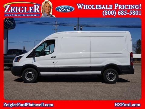 Pre-Owned 2018 Ford Transit-250 Extended Cargo