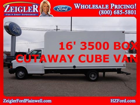 Pre-Owned 2016 Chevrolet Express 3500 Work Van